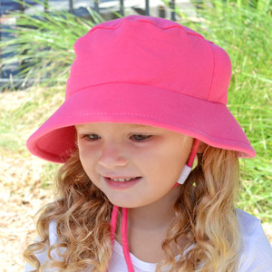 Day Care Bucket Hat - Raspberry