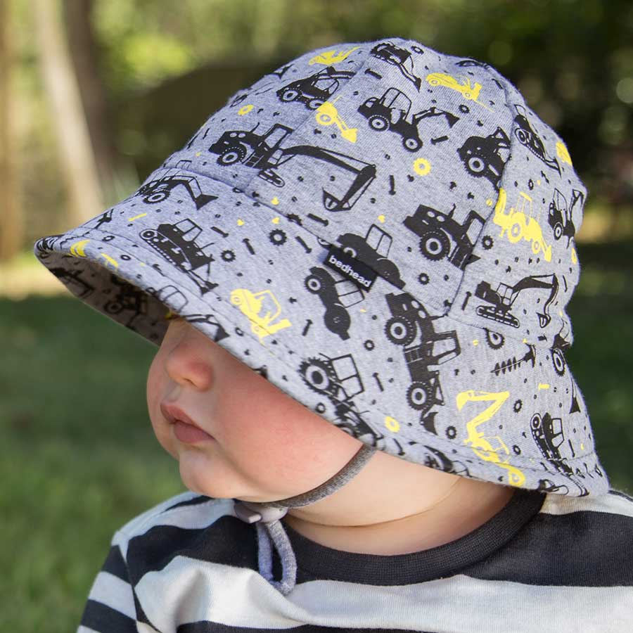 7edc47916d7 Bedhead Hats - Boys Baby Bucket Sun Hat with Strap - Shop Online UPF ...