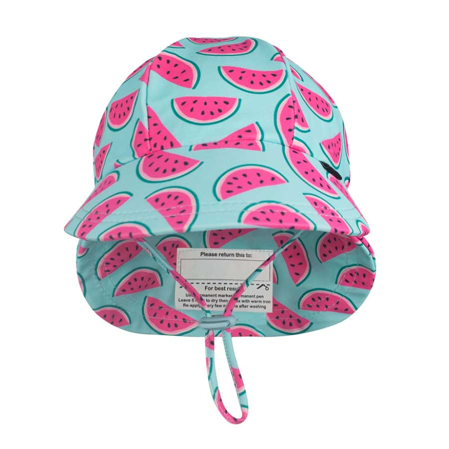 0803535a3cb Girls Beach Legionnaire Hat UPF50+ Watermelon - Bedhead Hats