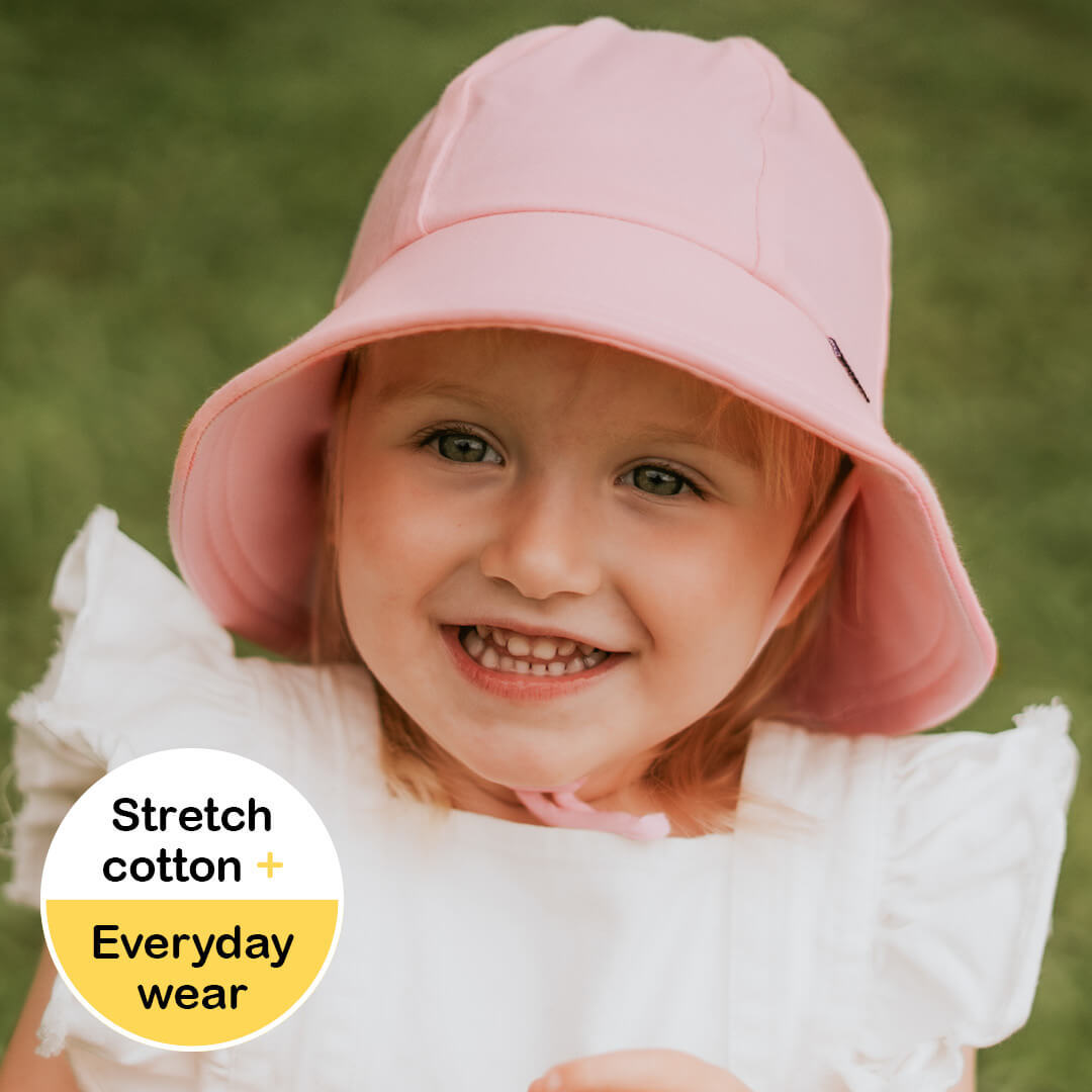0d0f4e054fc Bedhead Hats - Girls Baby Bucket Hat with Strap. UPF 50+ Sun ...