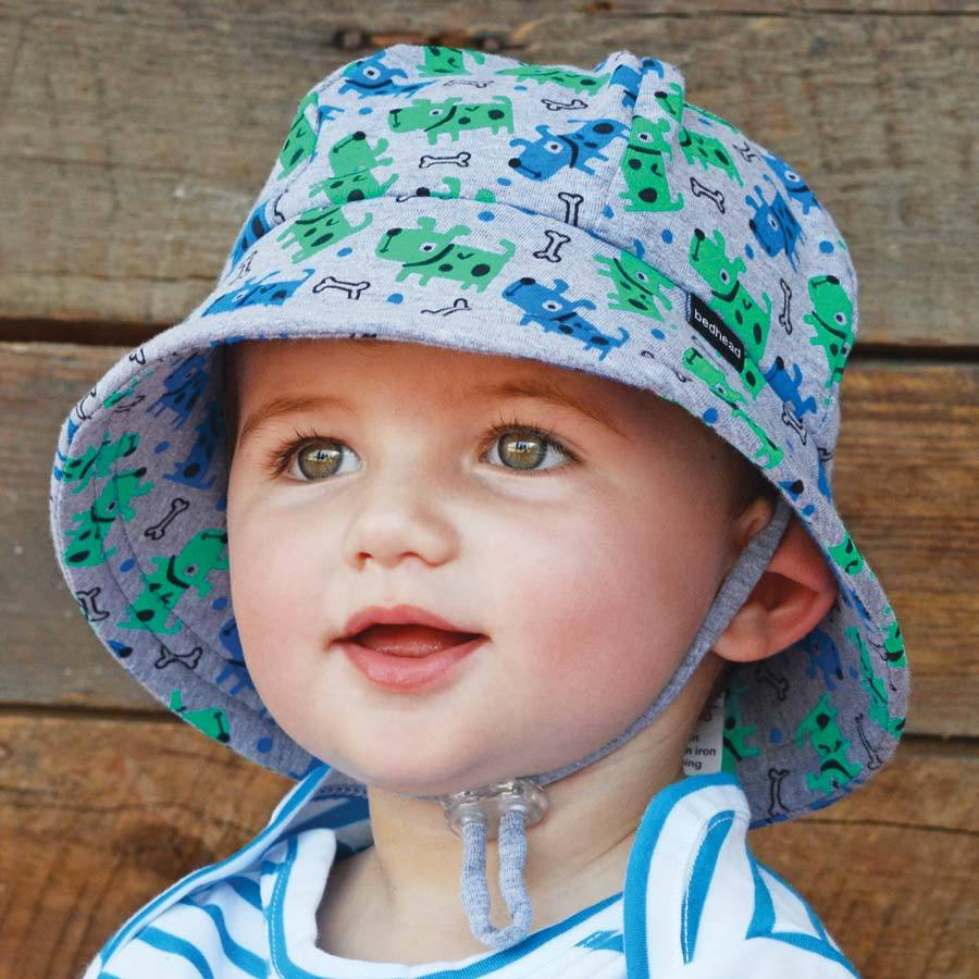 94eaa9a71702 Bedhead Hats - Boys Baby Bucket Sun Hat with Strap - UPF 50+ Baby ...