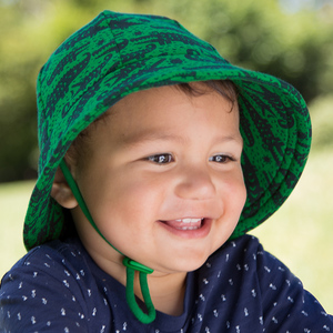 Boys Baby Bucket Hat 'Crocodile' Print
