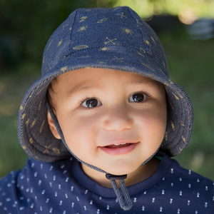 Boys Baby Bucket Hat 'Surf' Print