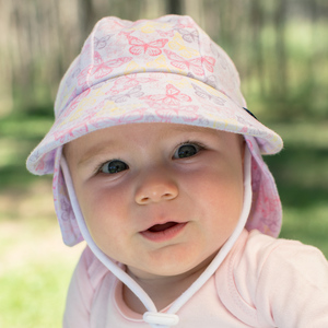 7f2321d46 Bedhead Kids Sun Hats - Legionnaire Hat with Strap for baby girls ...