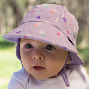 Girls Legionnaire Hat 'Ice Cream' Print