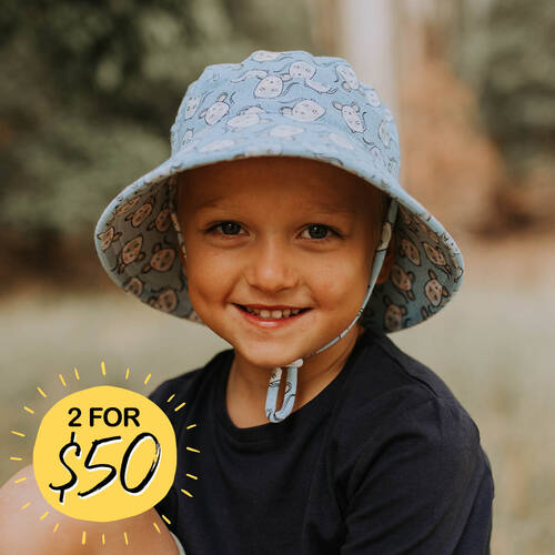 Kids Bucket Sun Hat - Mouse
