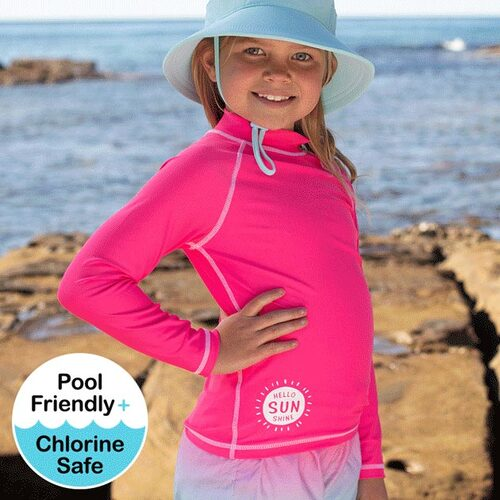 Girls Rash Vest UPF50+ - Candy